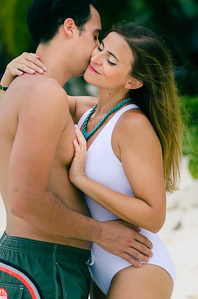 Honeymoon shoot at Four Season Seychelles